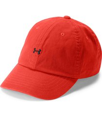 gorra under armour favorite logo-rojo