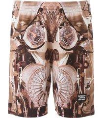 burberry wilford bermuda pants