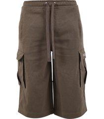 valentino cargo bermuda shorts