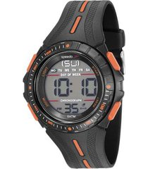 relógio masculino speedo 81162g0evnp1 50mm silicone