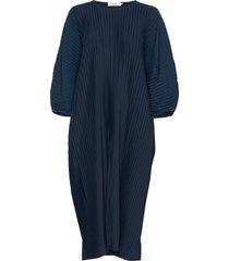 isadora dress knälång klänning blå stylein