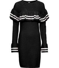 abito in maglia con maniche a campana (nero) - bodyflirt boutique