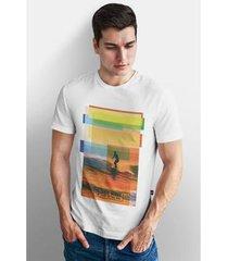 camiseta base nobre squares t- shirt masculina - masculino
