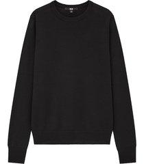extra fine merino crew neck sweater