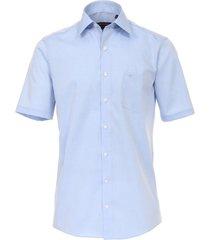 casamoda heren overhemd poplin non iron korte mouw comfort fit