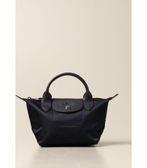 longchamp handbag le pliage bag longchamp tote bag in nylon with logo