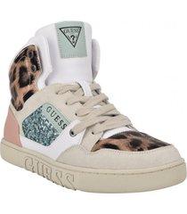 zapatilla footwear gwjustis2-a whm rosado guess