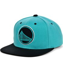 mitchell & ness golden state warriors minted snapback cap