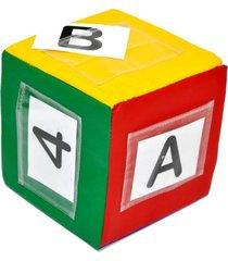 cubo variavel 40 cartas alfabeto e numeros