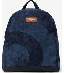 denim backpack - blue - u