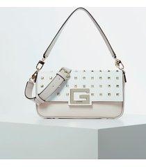 torebka na ramię z ćwiekami model brightside