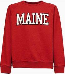 sebago bow fleece sweatshirt 781114w