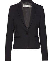 roseauiw short blazer blazer colbert zwart inwear