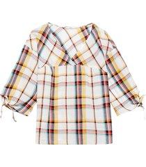 blus cotton blouse