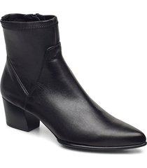 juande_vu_stn shoes boots ankle boots ankle boot - heel svart unisa