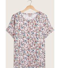 camiseta blanco-floral patprimo