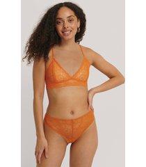 na-kd lingerie stringtrosa - orange