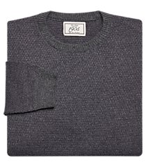 1905 collection tailored fit birdseye crew neck wool blend men's sweater - big & tall clearance