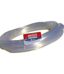fio de nylon ekilon crystal interligados 1,60 mm para aparador de grama, 100 metros