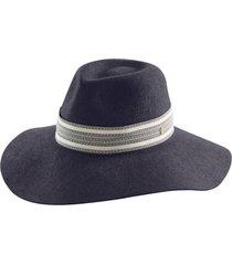 women's helen kaminski harlowe merino wool fedora - black