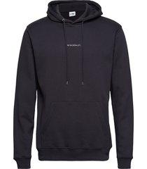 barrow printed hoodie 3385 hoodie trui zwart nn07