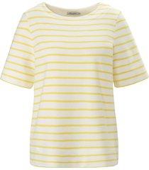 shirt 100% katoen ronde hals van maerz muenchen wit
