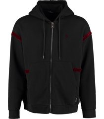 marcelo burlon cotton hoodie