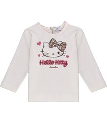 monnalisa hello kitty print maxi t-shirt