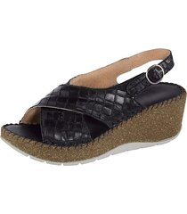 sandaletter naturläufer svart