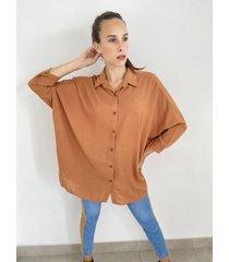 camisa naranja odas
