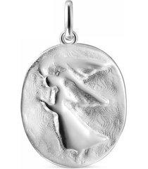 dije devoción ángel de plata
