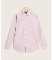 camisa manga larga con bolsillo