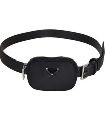 prada pouch applique belt