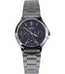 reloj casio ltp-v300d-1a-gris
