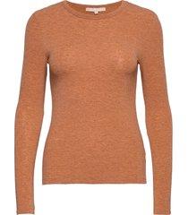 valentina ls top t-shirts & tops long-sleeved orange soft rebels