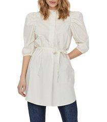 women's vero moda olivia tie waist tunic top