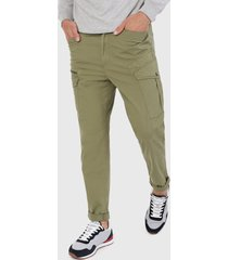 pantalón  verde pepe jeans