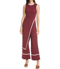 women's staud dee overlay detail jumpsuit