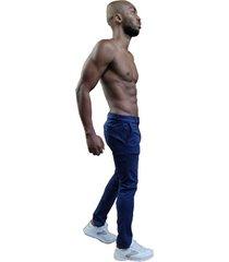 pantalón drill azul oscuro