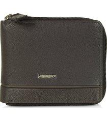 valentino by mario valentino designer men's bags, caleb eco leather zip around men's wallet