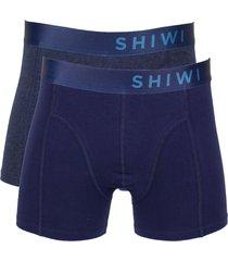 shiwi boxershort solid 2-pak