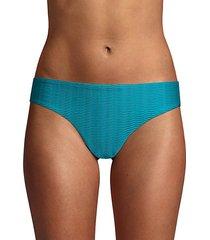 textured hipster bikini bottom
