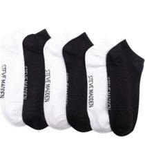 women's super soft low-cut socks, pack of 6