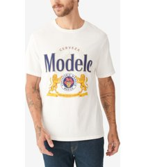 lucky brand men's modelo label t-shirt