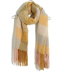 women's madewell brushed scarf, size one size - green