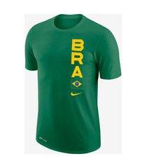 camiseta nike brasil masculina