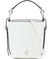 jimmy choo varenne mini bucket bag