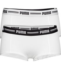 puma iconic mini short 2p lingerie panties hipsters/boyshorts/brazilian vit puma