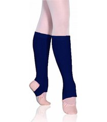 polaina ballet adulto sã³ danã§a acrilica - azul marinho - feminino - dafiti