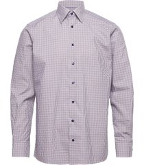 contemporary fit business casual twill shirt overhemd casual multi/patroon eton